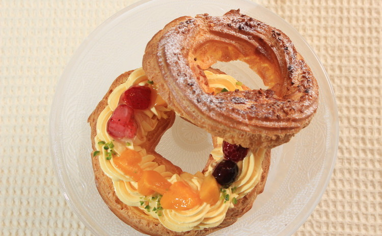maracuja~フルーツでさっぱり!パリブレスト