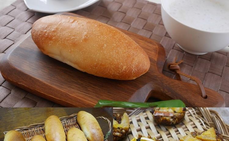 ★自家製酵母:酒粕酵母★コッペパン