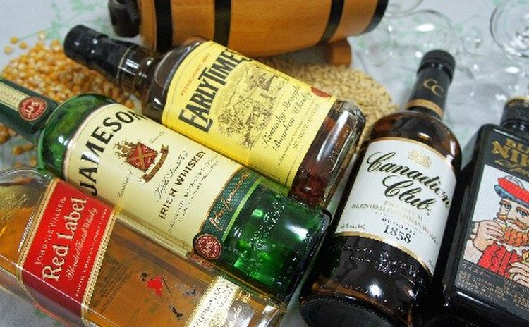 世界5大ウイスキー 飲み比べ