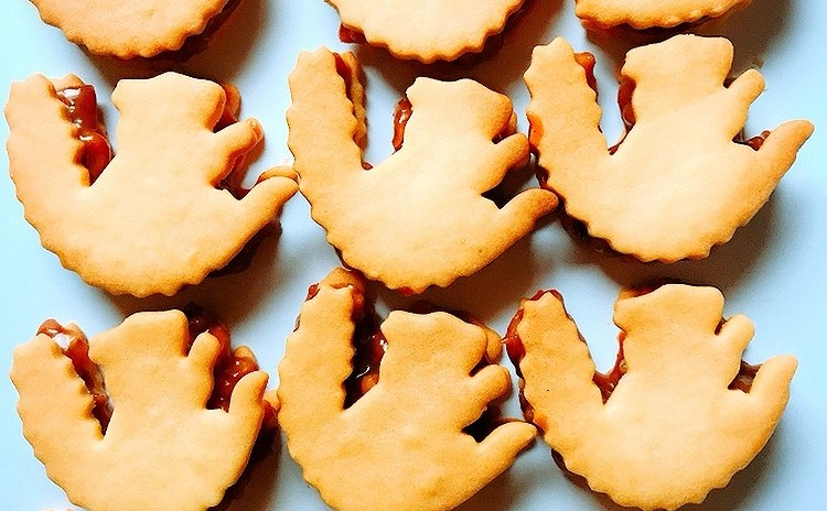 キャラメルくるみクッキー