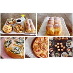 *orange bread*3種類のロールインちぎりパン*
