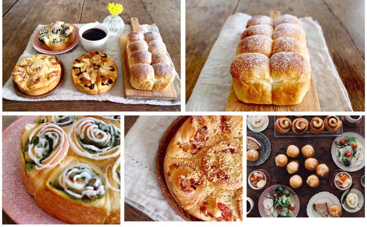 日程追加!*orange bread*3種類のロールインちぎりパン*フィリングたっぷり使います。ランチプレート付き!作ったパンは全ておもち帰りできます*楽しく美味しいパンを作りましょう!!