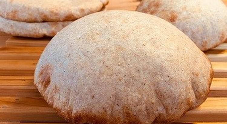 全粒粉50%配合!絶対膨らむピタパン