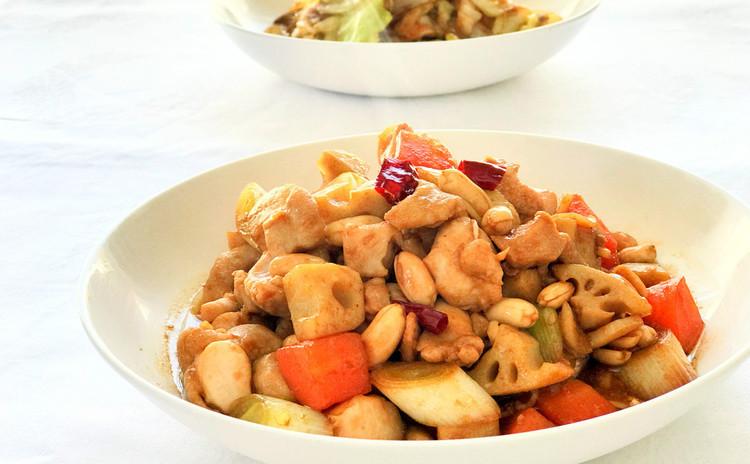 中華伝統料理【宮爆鶏丁】とそのほか旬の家庭料理シリーズ