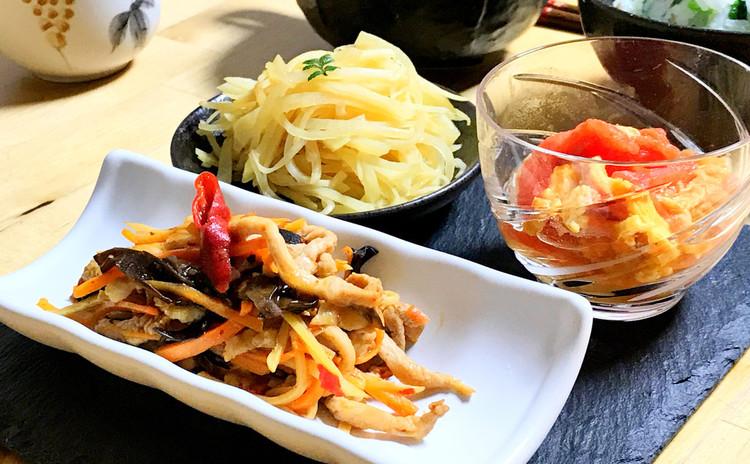 ご飯が進む♪魚香肉絲とその他定番家庭料理5品