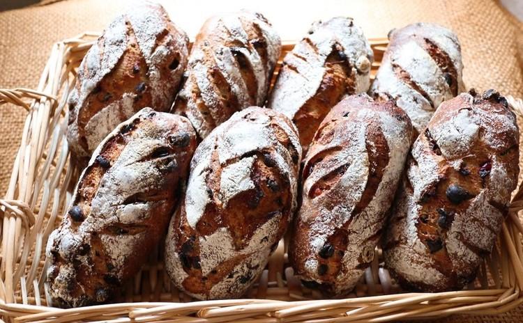 レーズン種で作る自家製酵母パン セーグル フリュイ セック