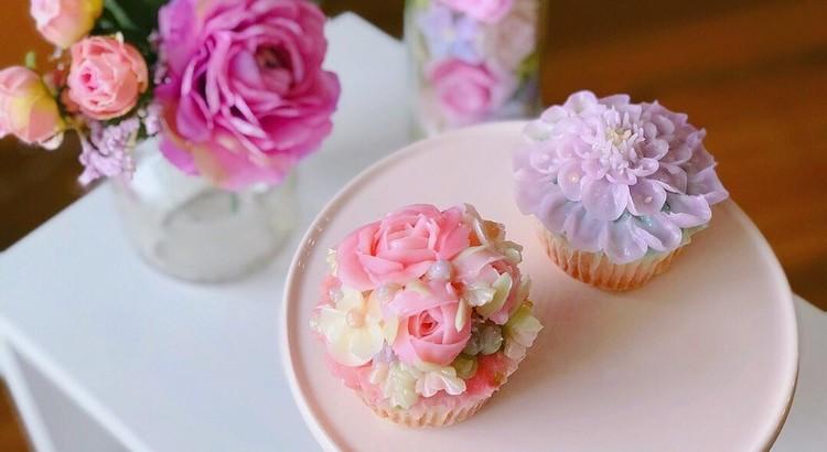 カップケーキレシピ3種