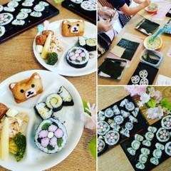 断面のきれいな飾り巻き寿司レッスン(ランチ・お土産つき)