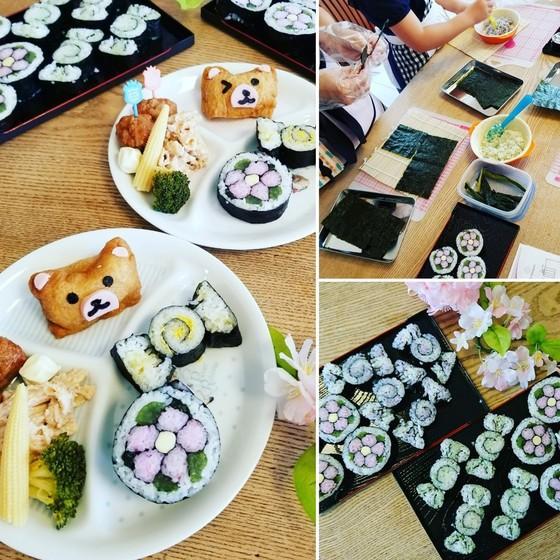 断面のきれいな飾り巻き寿司レッスン