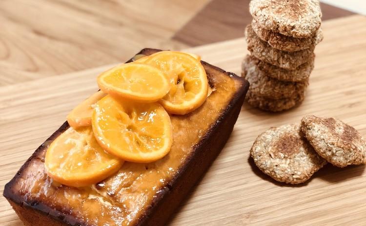 5,6月レッスン♪オレンジたっぷりのケーキとココナッツクッキー