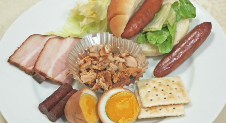 燻製おつまみ作り③【お肉&卵バージョン】