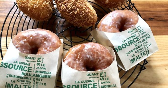 《ランチ付》サクサクの揚げカレーパン&ふんわりドーナツ
