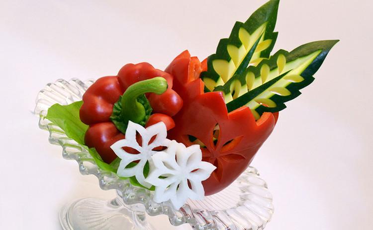 料理に使える!野菜彫刻レッスン!(材料費込)