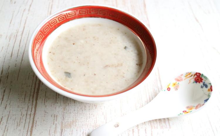 牛蒡と里芋のスープ