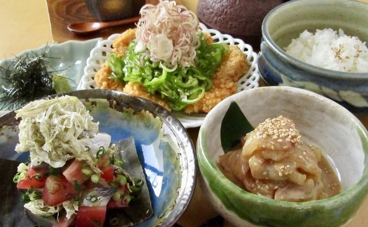初夏を彩り魚と野菜で味わう美味しい和食