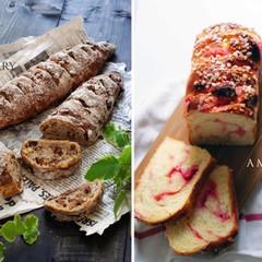 【ランチ付】旨味の田舎パン♡いちじくグラハムととラズベリーフロマージュ
