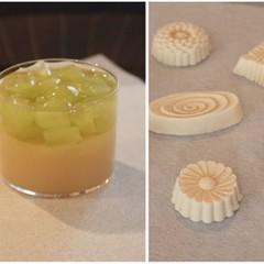 6月の和菓子レッスン♪「トロピカル羊羹」と「和三盆糖のお干菓子」