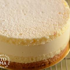 フロマージュブランのレアチーズケーキ