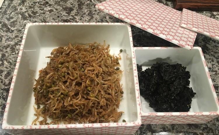 ちりめん山椒と海苔の佃煮