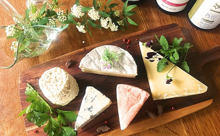 食卓にチーズとワイン*ビギナーズレッスン