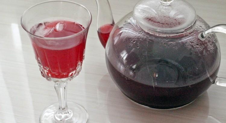 ソレルドリンク~ラム酒を加えても❀