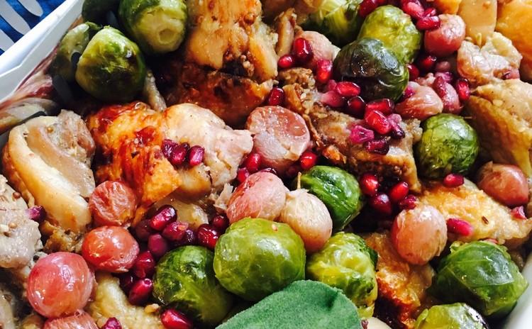 食材の組み合わせが新鮮なペルシャ家庭料理