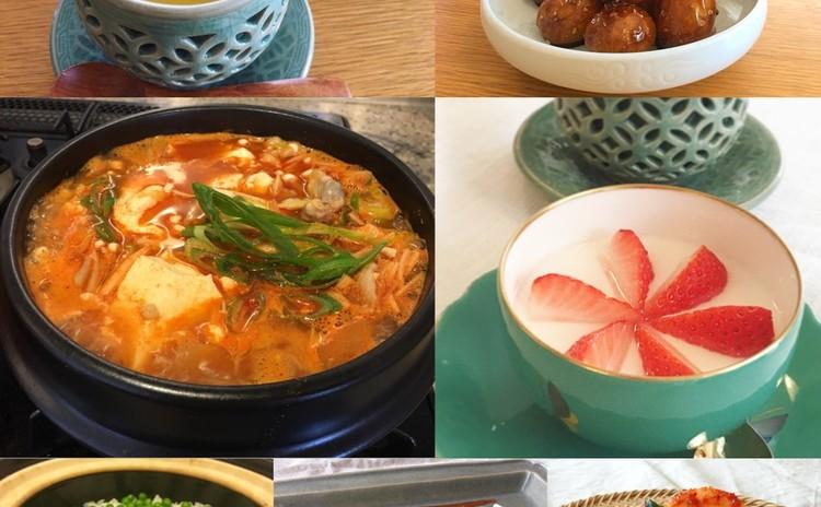 初夏の韓国家庭料理