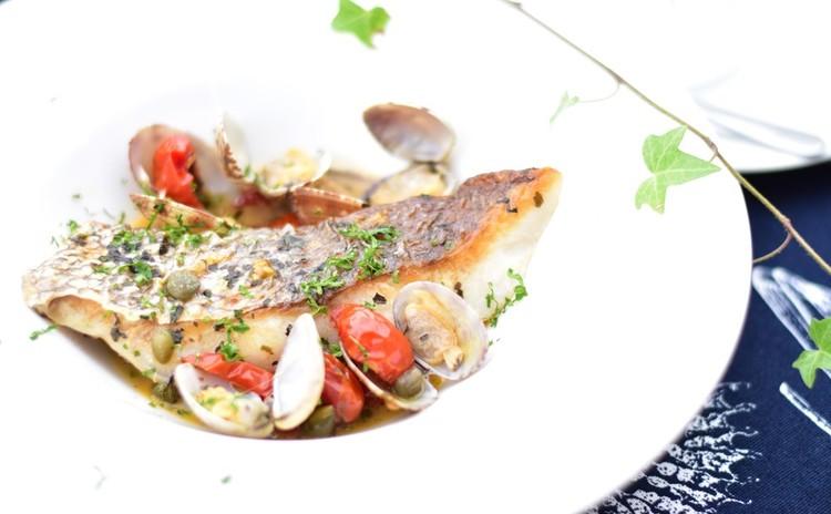 切り身魚で作るアクアパッツァ