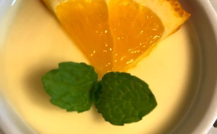 ジェノヴェーゼ☆鯛のカルパッチョ☆オレンジクリーム