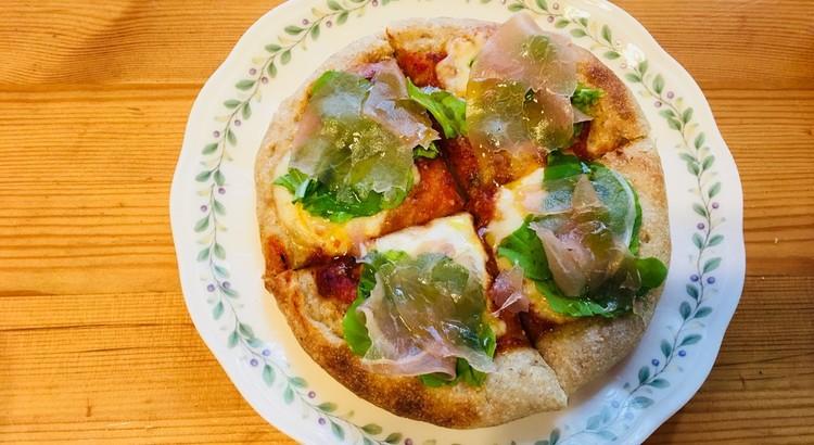オーブントースターでも焼けるお手軽ミニピザ