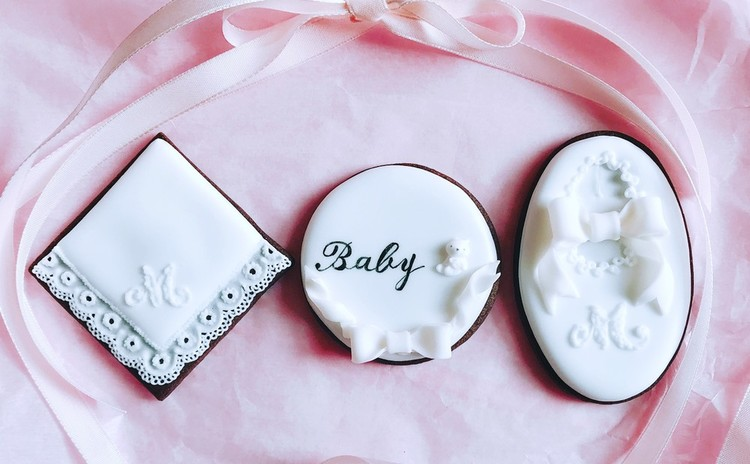アイシングクッキー基礎レッスン〜hello baby♪お土産付き!