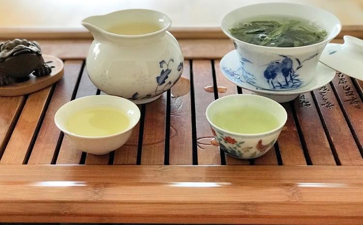 季節の中国茶席