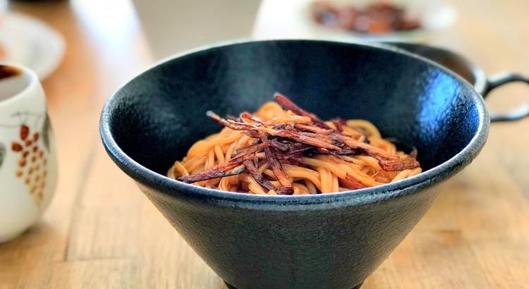 上海ネギ油混ぜ麺(葱油麺)