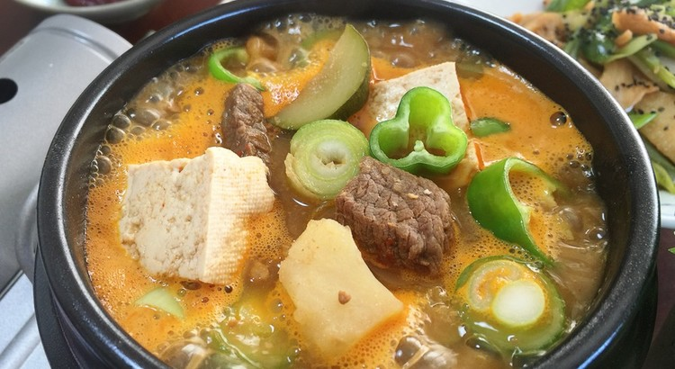 韓国味噌鍋(チゲ)