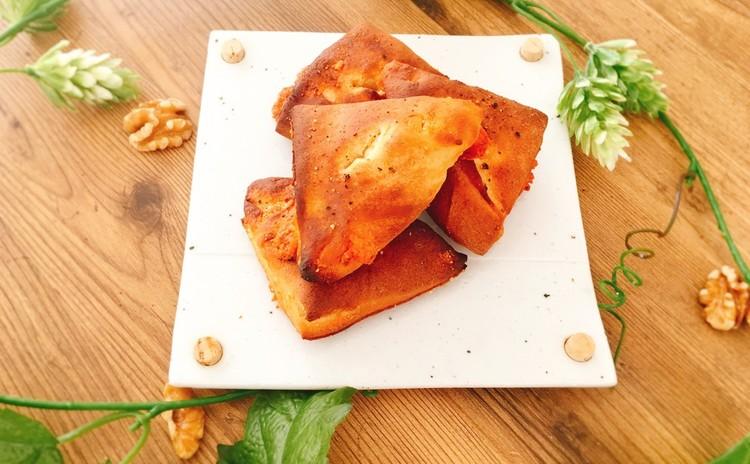 大豆粉パン「2種類のチーズ&ブラックペッパー」(4個お持ち帰り)