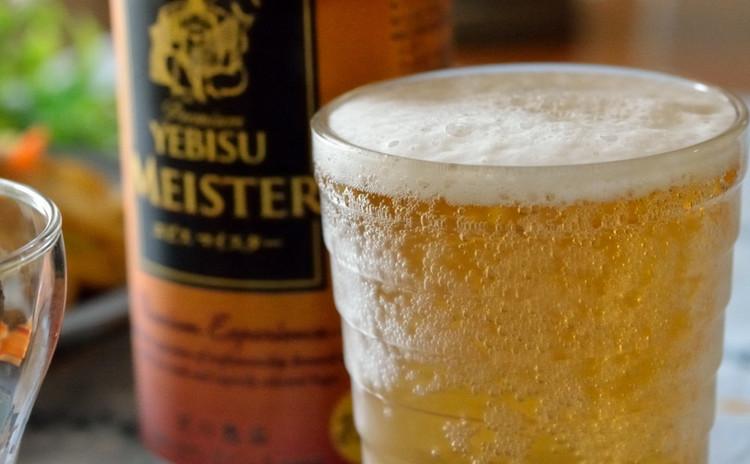 乾杯のビール♡