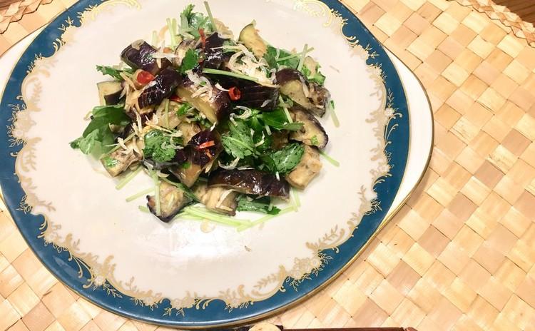 ナスと小えびのタイ風サラダ
