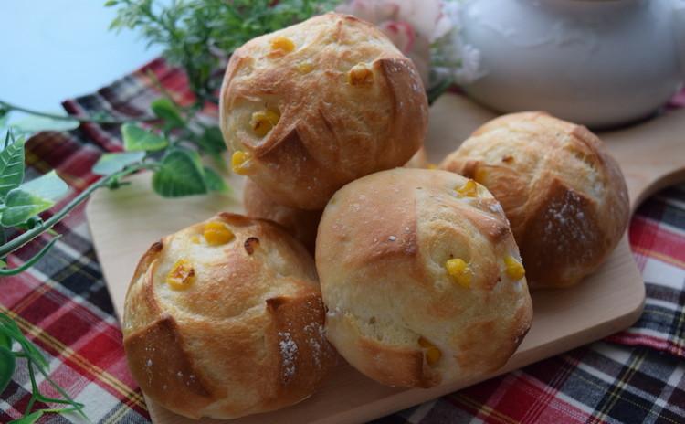 ■基本レッスンメニュー♪コーンフランスパン&ブラウンブレッド
