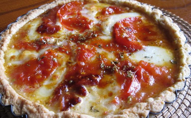 カラメルトマトとモッツァレラのトルタ