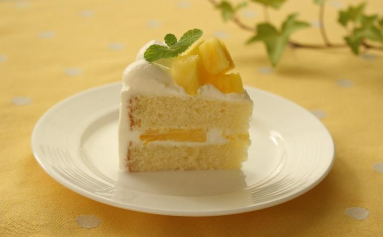 爽やか夏のバースデー・ハワイアンパイナップル・ショートケーキ