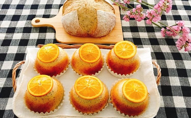 紅茶酵母カンパーニュと紅茶&オレンジ