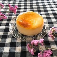 ひび割れしないスフレチーズケーキ