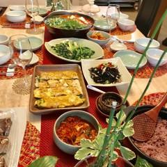 韓国家庭料理の基本メニュー