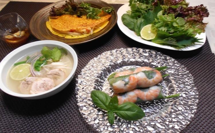 蒸し暑い日にピッタリのベトナム料理❗