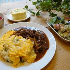 おうちで洋食屋さんの味!絶品ハッシュドビーフとふわとろオムライス