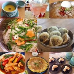 夏の発酵食品と韓国家庭料理