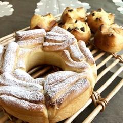 【ランチ付】薔薇のパン&レーズンブレッド