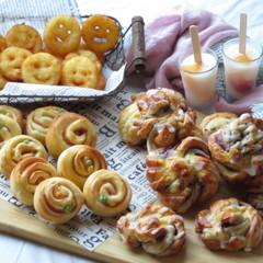【大人】レンジ発酵調理パンと材料5つのデニッシュ&ポテト・アイスバー