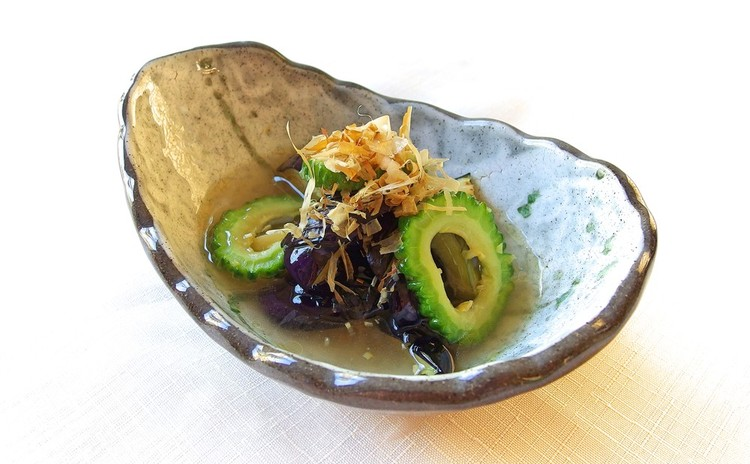 季節野菜と生姜の揚げ浸し
