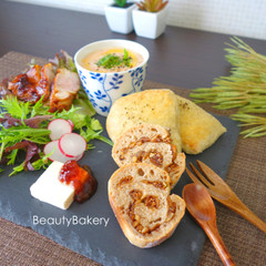 天然酵母の美肌パン 【フィグオ・ノ・ア&とろろ昆布のリュスティック】